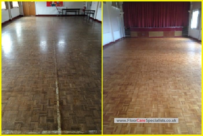 Wood Floor Restoration Sanding and Sealing - www.FloorCareSpecialists.co.uk