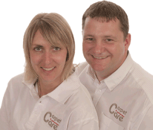 Sarah & Chris Owners of Bailey's Floor Care