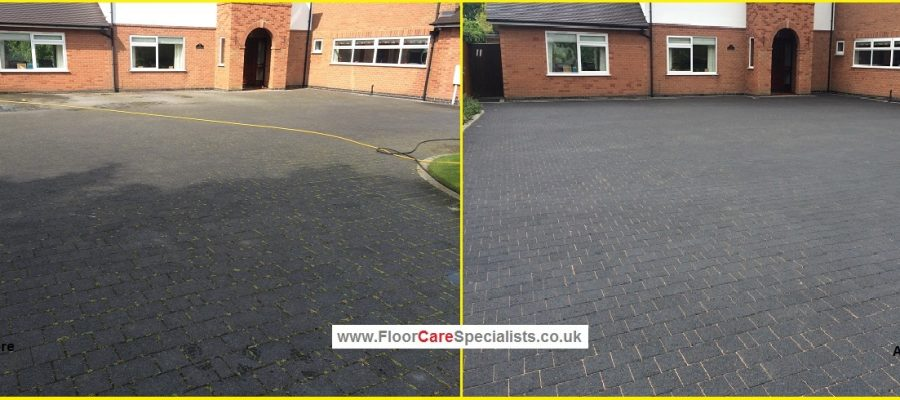 Professional Driveway Cleaning - www.FloorCareSpecialists.co.uk