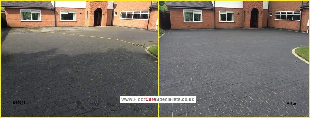 Driveway cleaning and sealing floor care specialists for Driveway cleaning companies