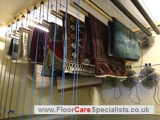 Professional Rug Cleaning in Leicester - www.FloorCareSpecialists.co.uk