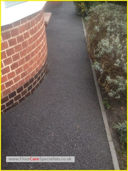 Tarmac and patio cleaners in leicester - www.FloorCareSpecialists.co.uk