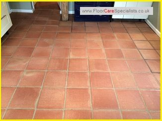 Terracotta Floor Tile Cleaning And Sealing Bailey S