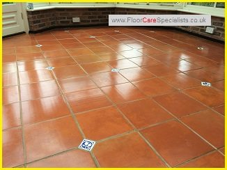 how to clean terracotta tiles before sealing