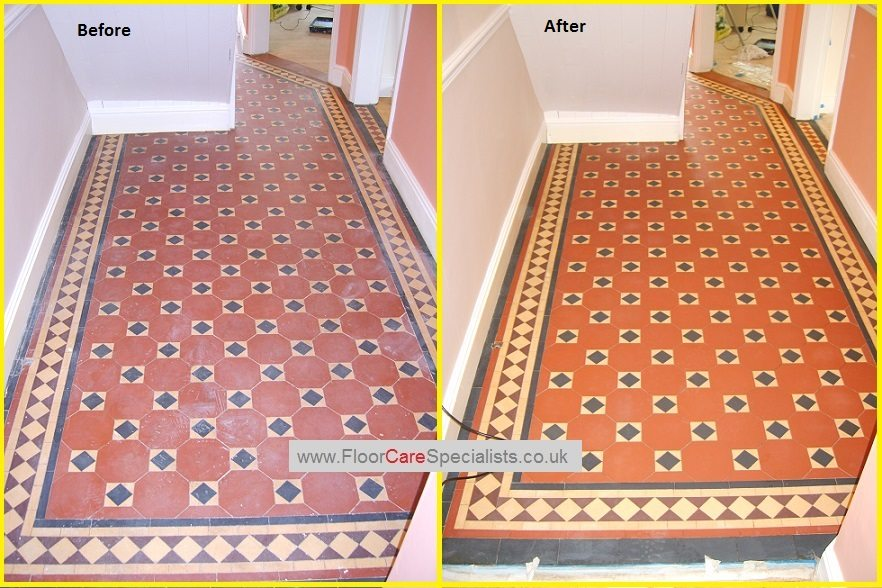 Victorian Floor Tile Cleaning And Sealing Baileys Floor Care