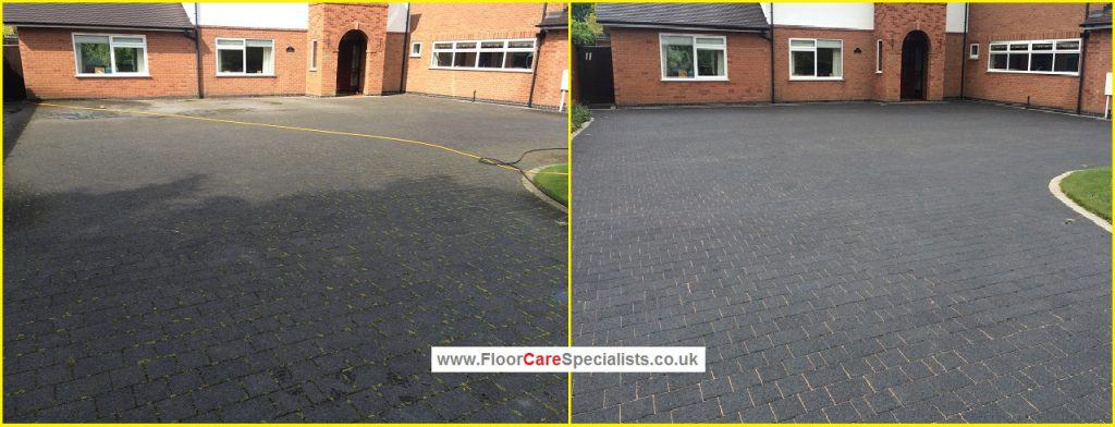 Professional Drive Cleaning in Market Harborough - www.FloorCareSpecialists.co.uk