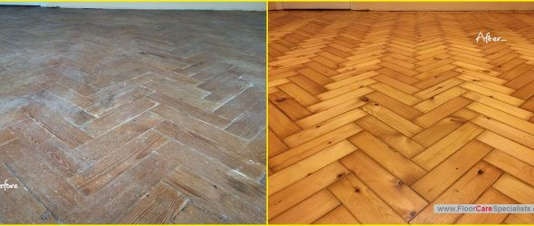 Pine Floor Sanders in Leicester - www.FloorCareSpecialists.co.uk