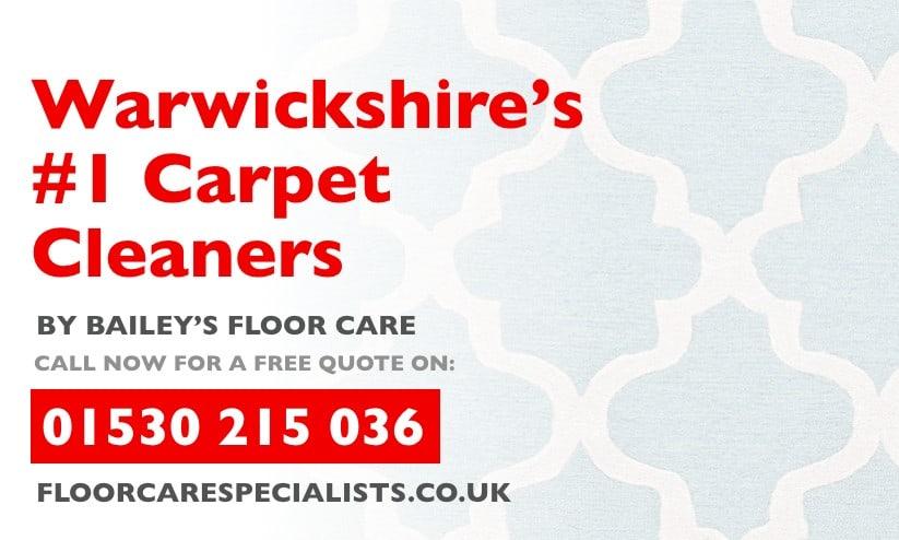 carpet cleaning in warwickshire