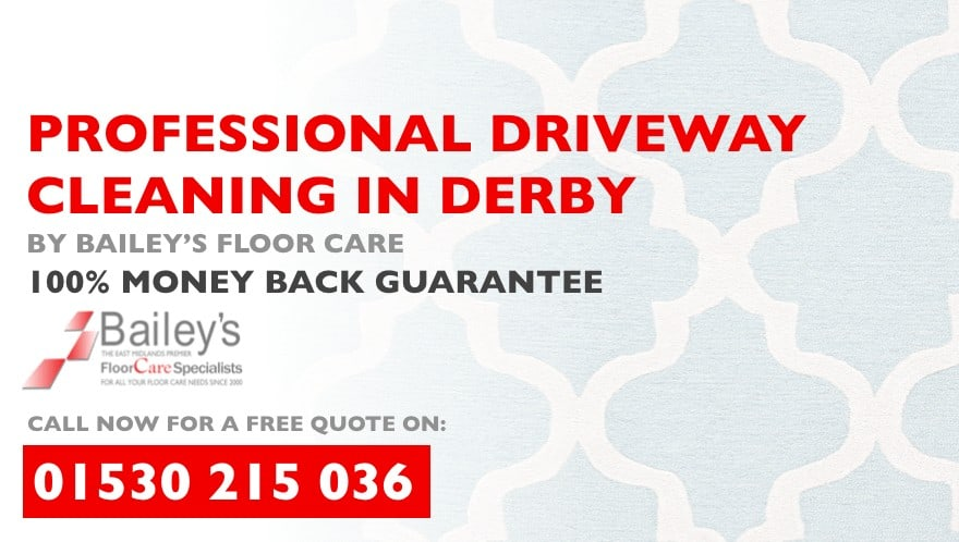 professional driveway cleaning in derby from baileys floor care