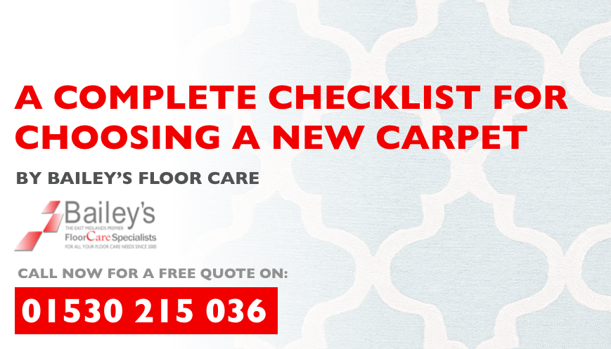 A Complete Checklist for Choosing a New Carpet