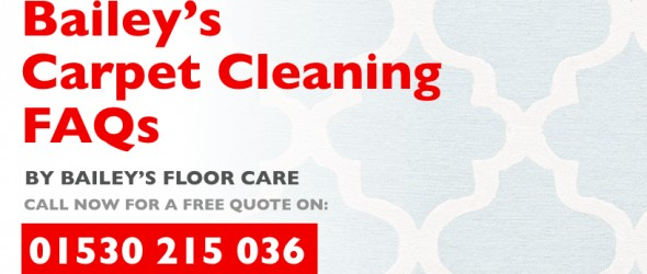 baileys carpet cleaning faqs